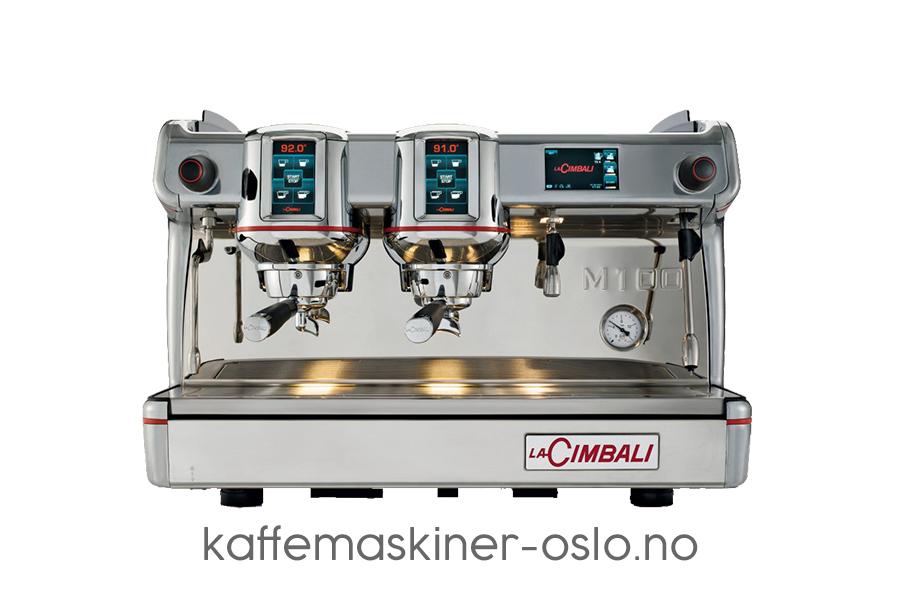 La Cimbali M100 coffee machine two