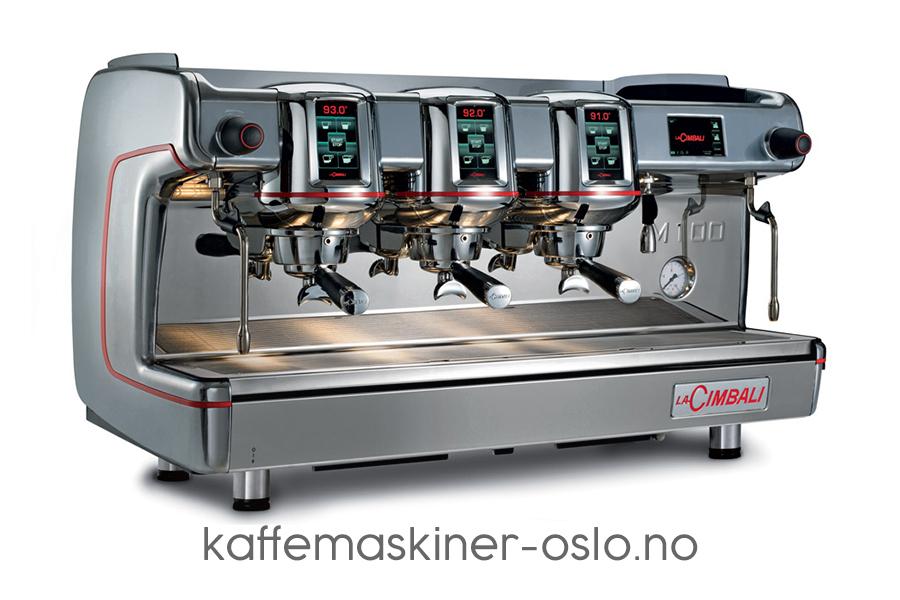 La Cimbali M100 silver coffee machine